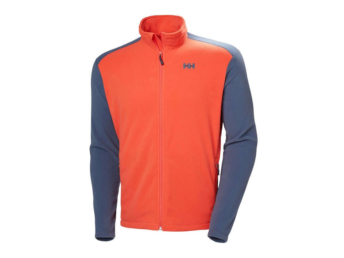 Helly Hansen DAYBREAKER FLEECE JACKET - PAPRIKA - XXL (51598_118-2XL )