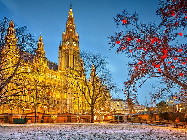 Advent Bécsben 2018.12.08.- vásárlás a Primarkban, majd karácsonyi vásár Bécsben / fő