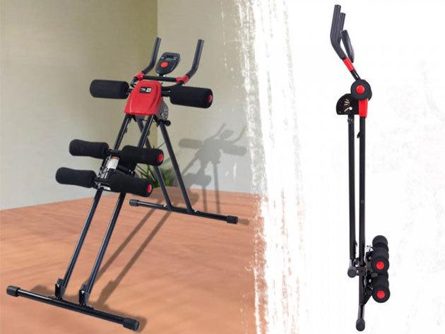 Kar- és hasizom erősítő edzőgép 4 nehézségi fokozattal / Eddz az otthonod kényelmében!
