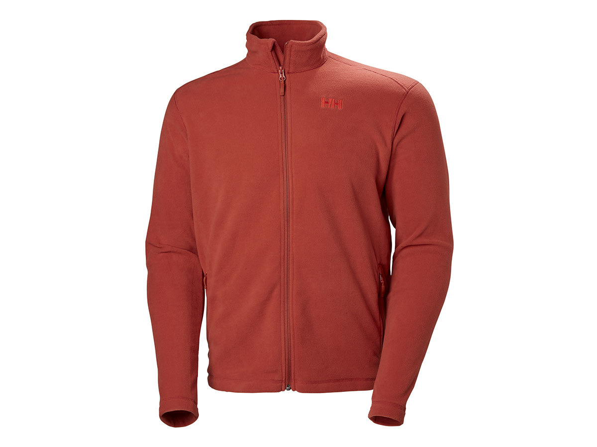 Helly Hansen DAYBREAKER FLEECE JACKET - RED BRICK - S (51598_199-S )