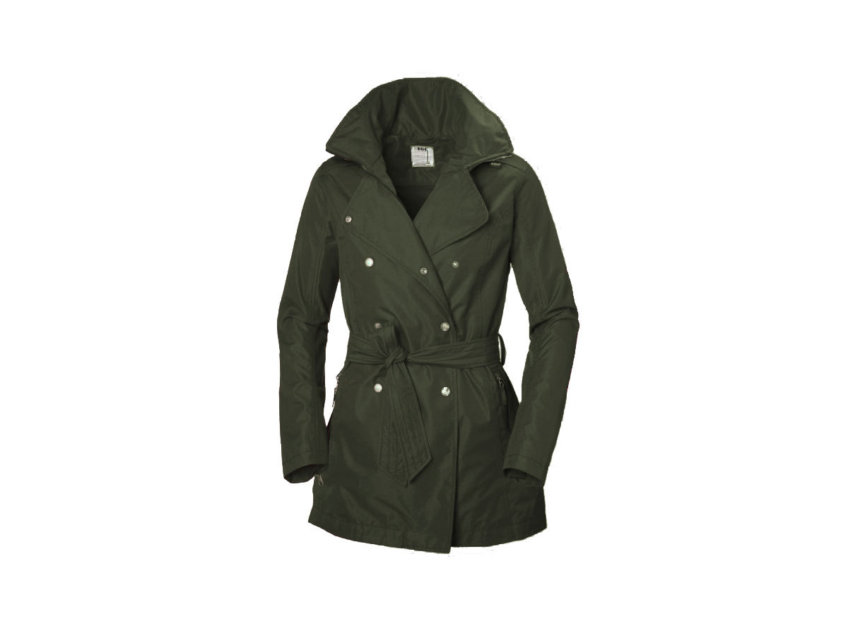 Helly Hansen W WELSEY TRENCH - BELUGA - XL (62383_482-XL )