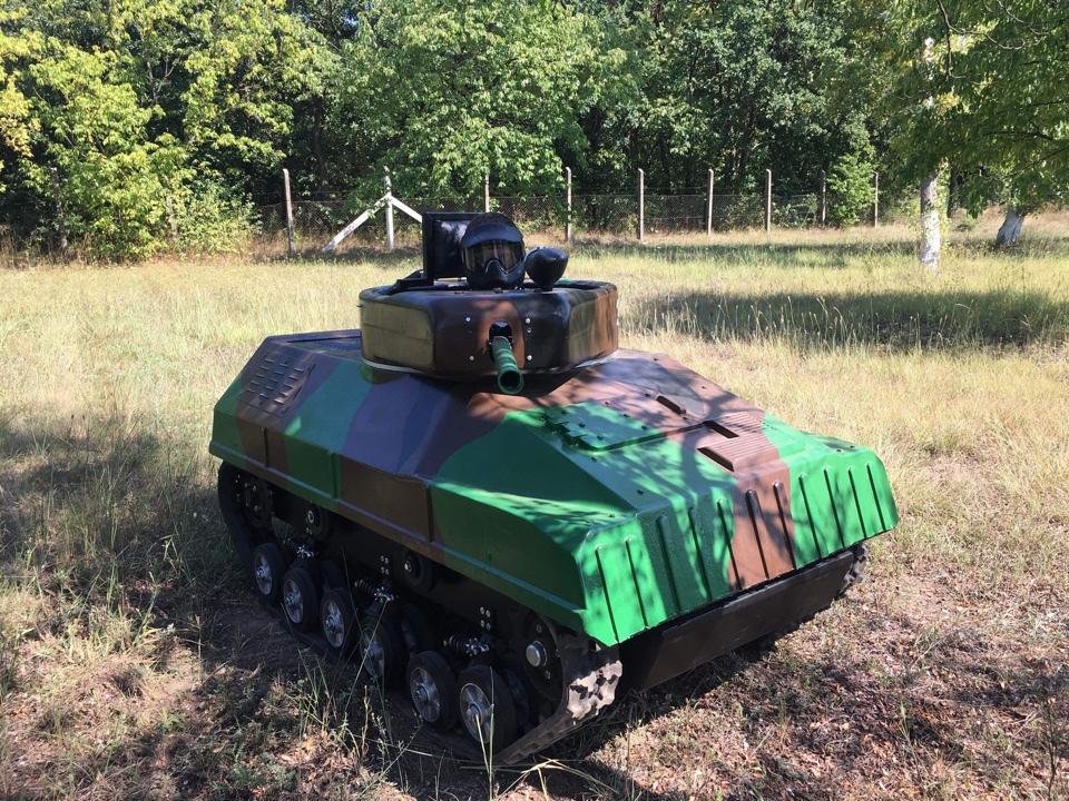 Paintball Mini Tank - Mini Tank vezetés csomag / fő