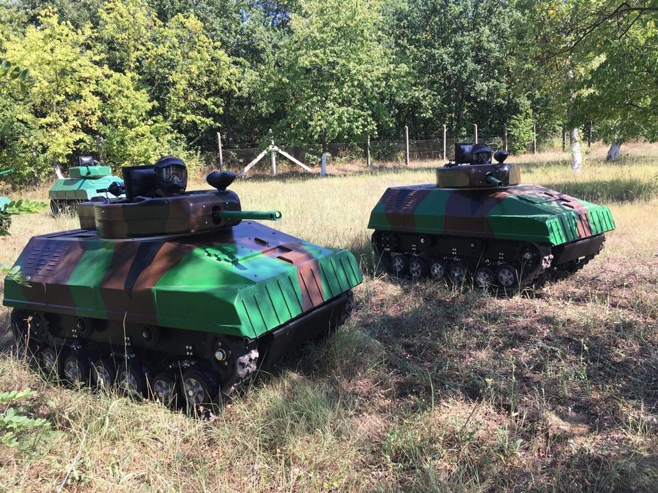 Paintball Mini Tank - Párbaj EXTRA csomag (2 fő esetén) / fő