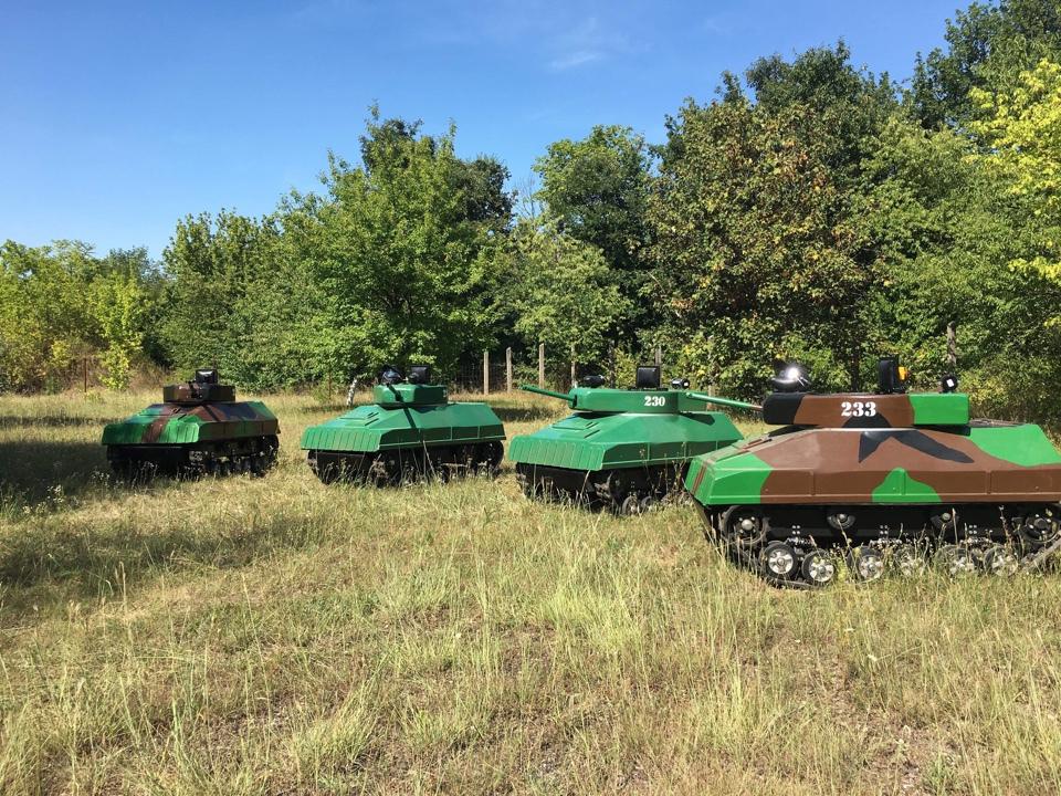 Paintball Mini Tank - Csata EXTRA csomag(4 fő esetén) / fő