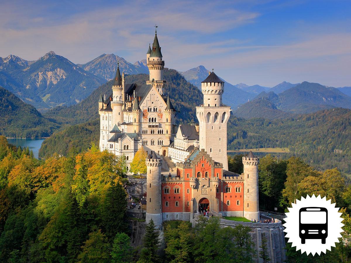 Ausztria, buszos utazás - Neuschwanstein és Salzburg, barangolás mesébe illő tájakon / fő