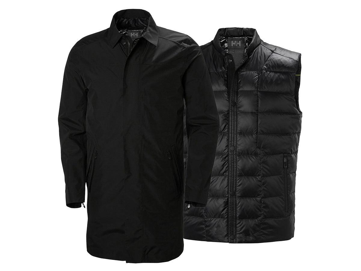 Helly Hansen ASK BUSINESS COAT - BLACK - XXL (65131_990-2XL )
