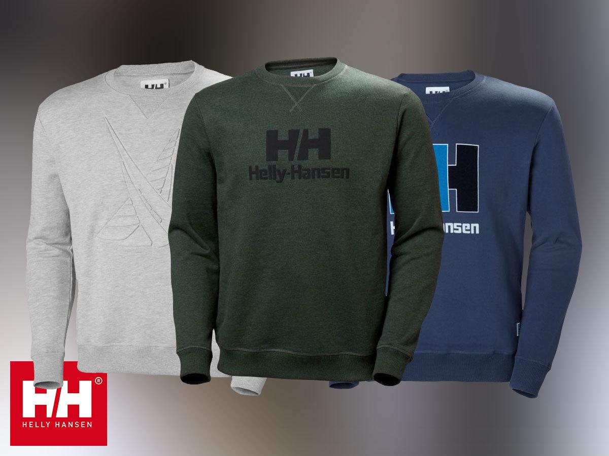Helly Hansen HH CREW SWEAT férfi pulóver 100% pamut anyagból (S-XXL)