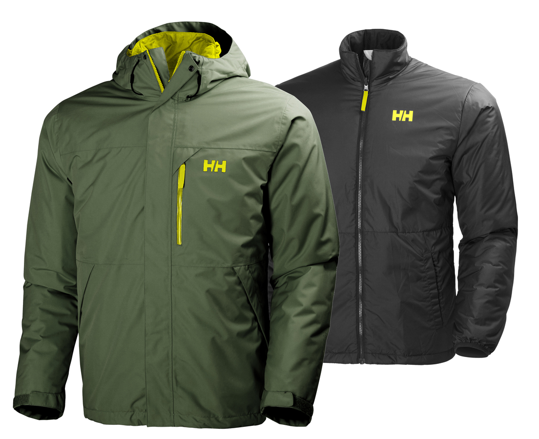Helly Hansen SQUAMISH CIS JACKET - IVY GREEN - XL (62368_491-XL )