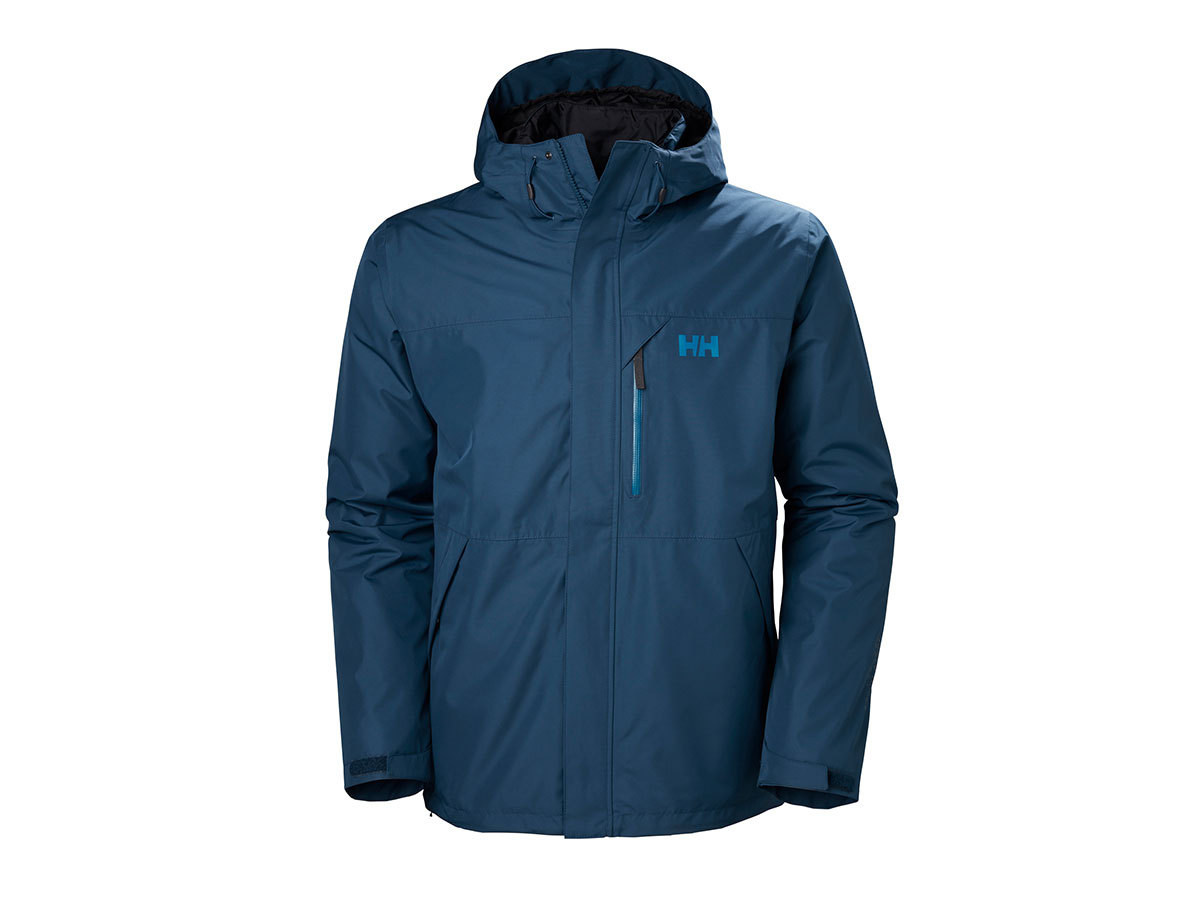 Helly Hansen SQUAMISH CIS JACKET - DARK TEAL - XL (62368_504-XL )