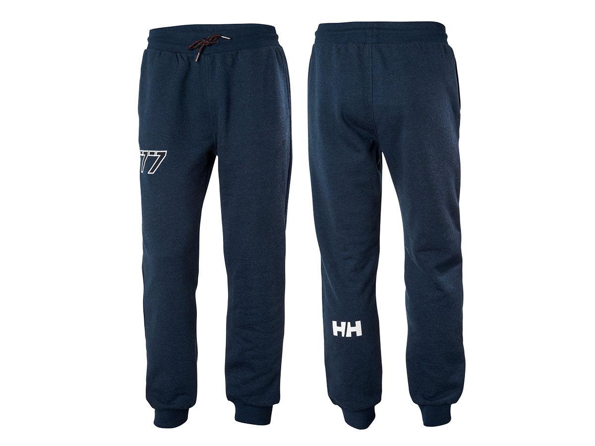Helly Hansen CLUB SWEAT PANT - NAVY - L (33938_597-L ) - AZONNAL ÁTVEHETŐ