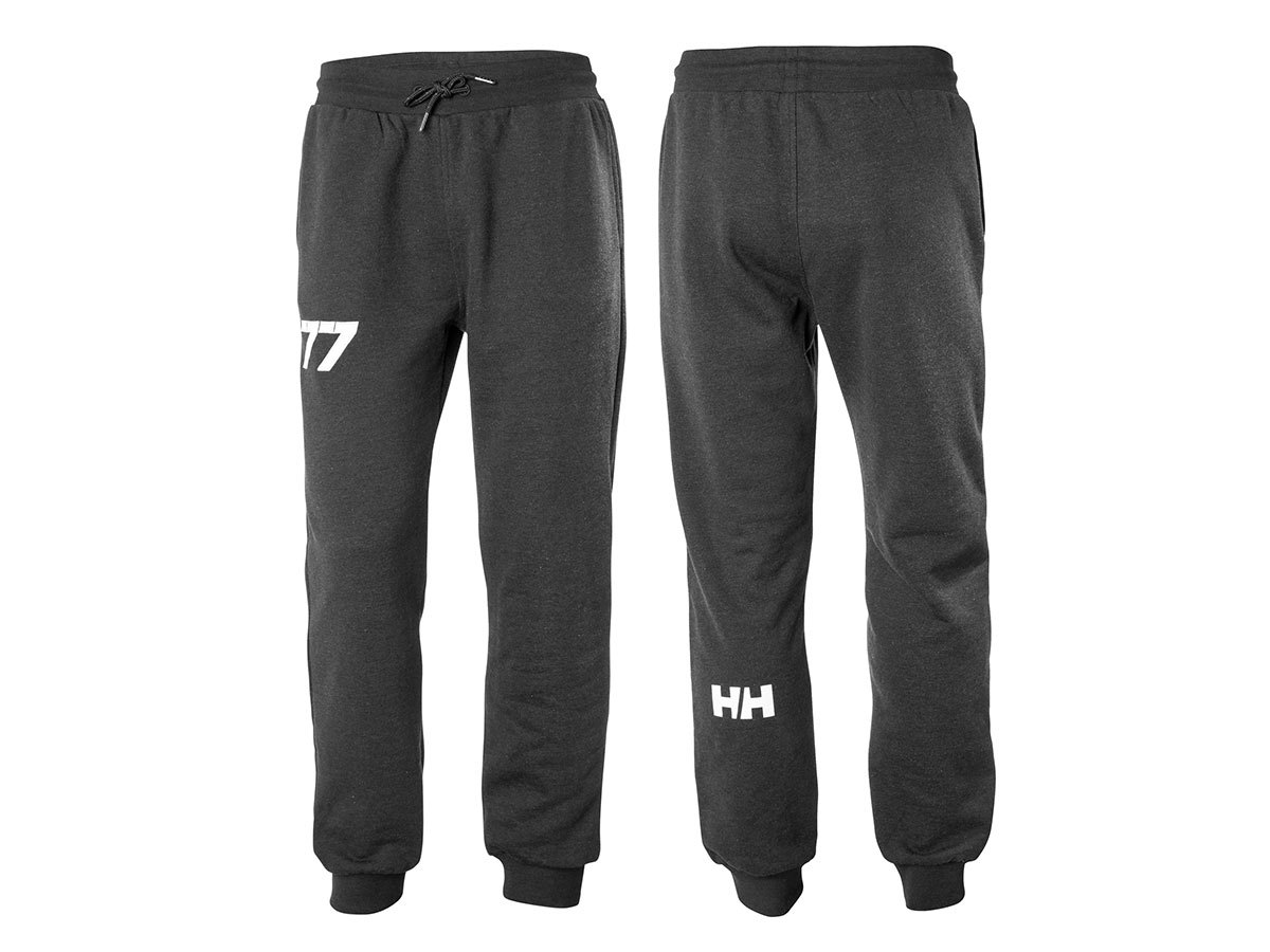 Helly Hansen CLUB SWEAT PANT - EBONY MELANGE - S (33938_980-S )