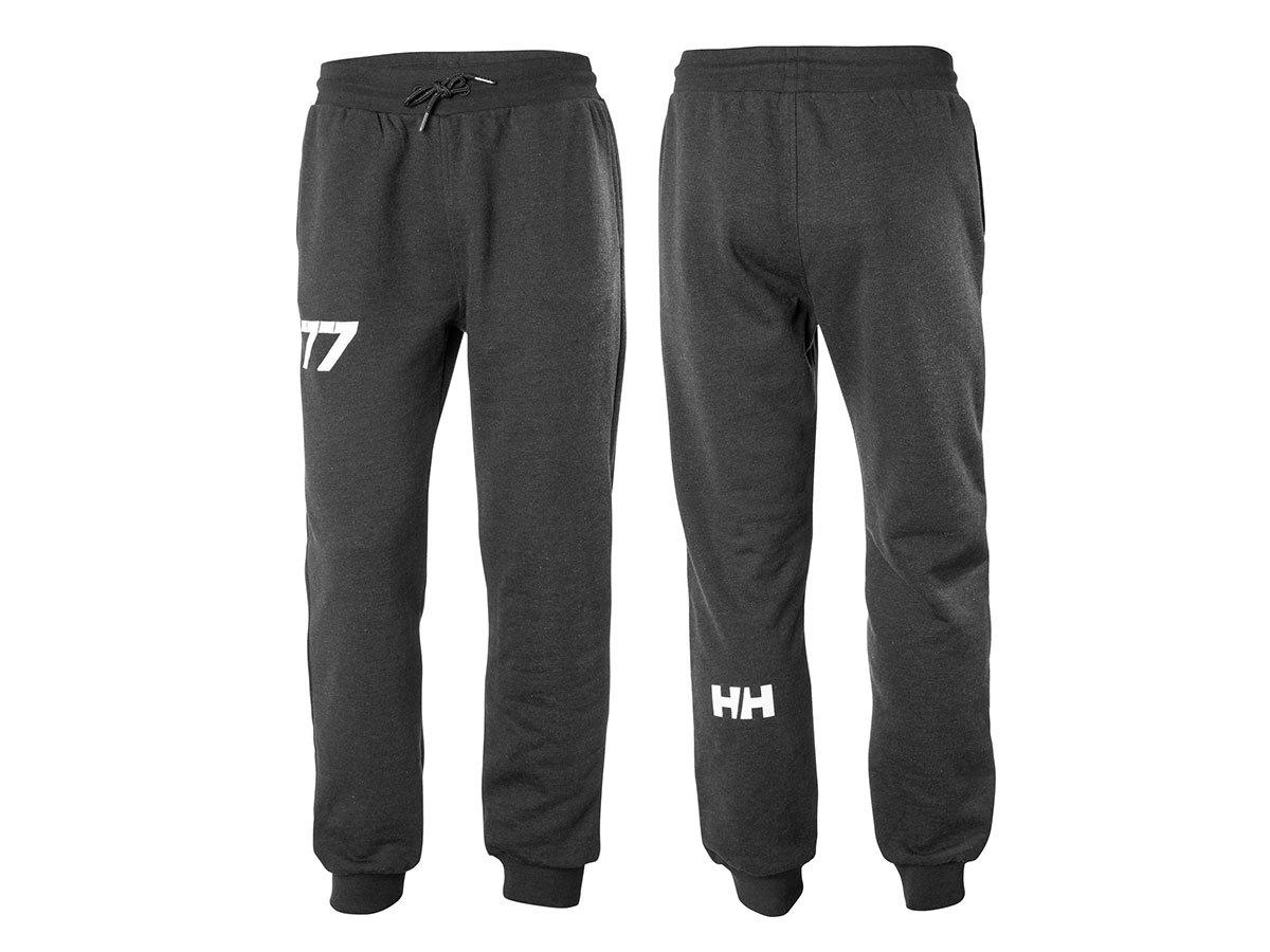 Helly Hansen CLUB SWEAT PANT - EBONY MELANGE - XXL (33938_980-2XL )