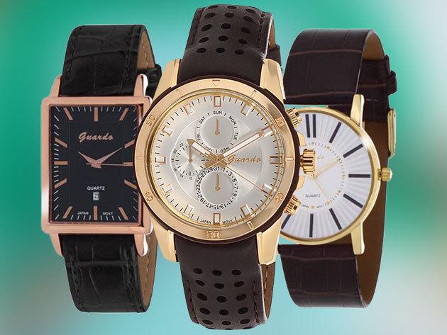 Guardo Fashion női és férfi karórák - dizájnos megjelenés és minőség  kombinációja - Miyota (CITIZEN Watch Co Ltd. Japan) kvarc óraszerkezettel  és bőr ... 368c6fa38f
