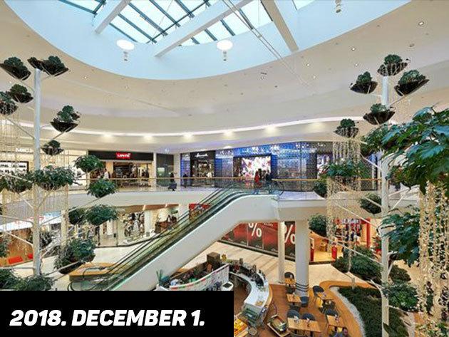 2018. december 1. (szombat) KARÁCSONYI VÁSÁR A SHOPPING CITY SÜDBEN / fő
