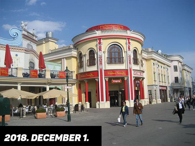 2018. december 1. (szombat) MADAME TUSSAUD PANOPTIKUMA  / fő