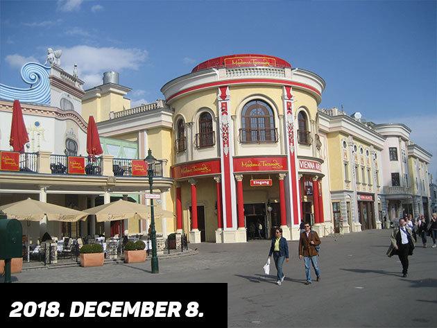2018. december 8. (szombat) MADAME TUSSAUD PANOPTIKUMA  / fő