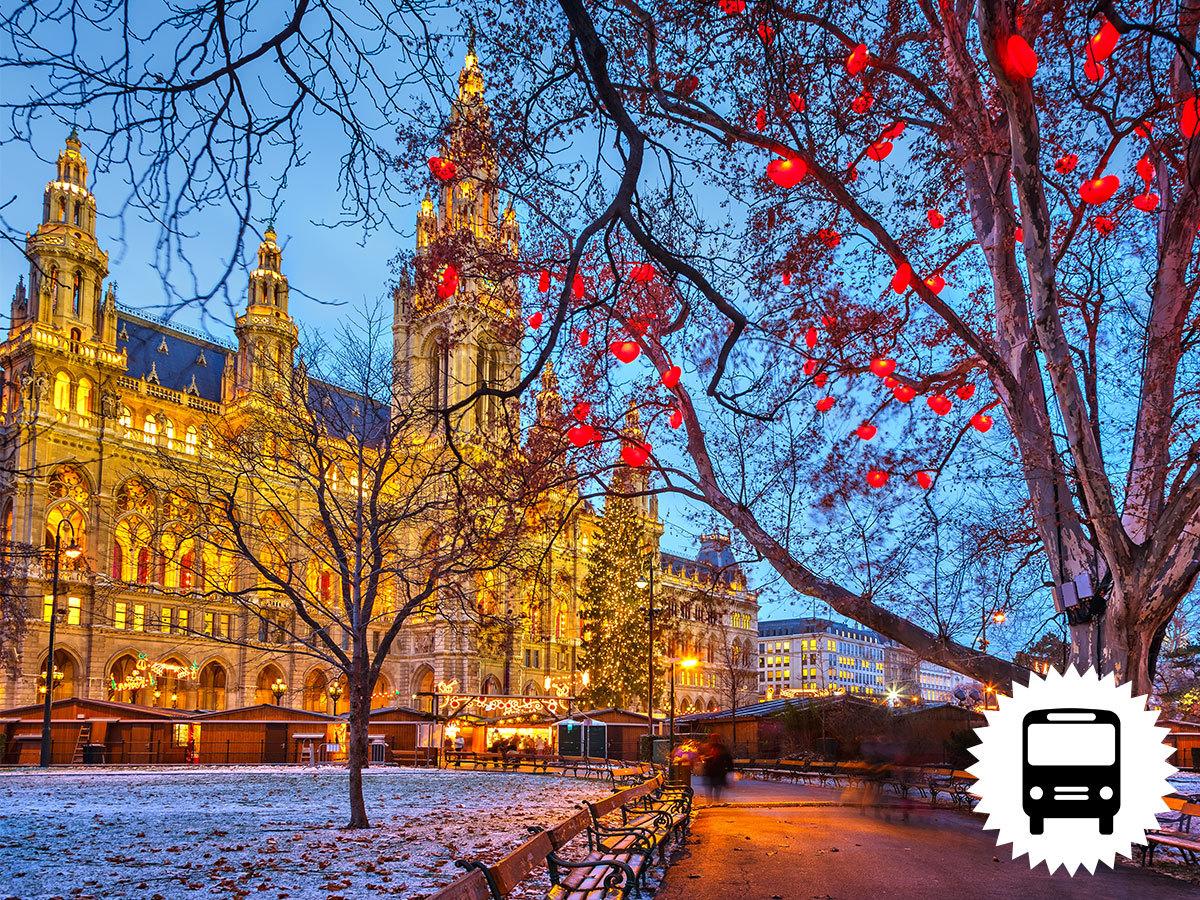 Advent Bécsben buszos utazással - különleges programok és számos időpont közül választhatsz / fő