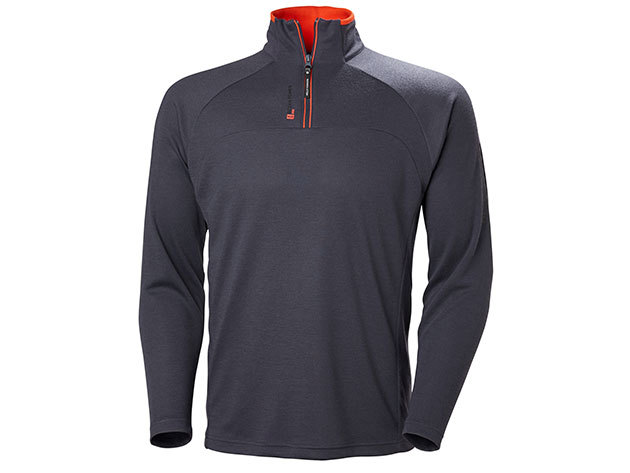 Helly Hansen HP 1/2 ZIP PULLOVER - GRAPHITE BLUE - S (54213_994-S )