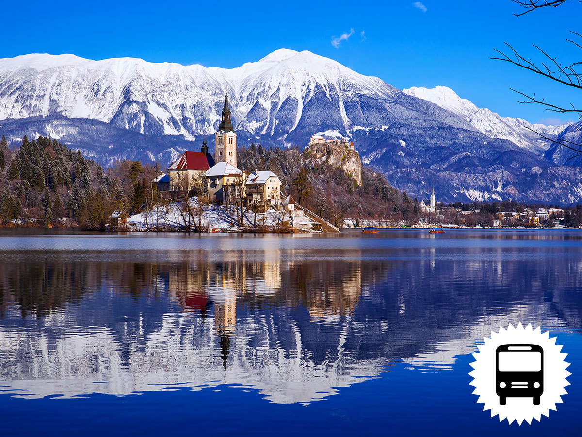 Advent Szlovéniában - BLED és LJUBLJANA 1 éjszaka szállással, félpanzióval, városnézéssel és karácsonyi vásárral - buszos utazás / fő