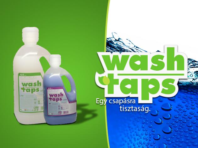 Környezetbarát takarítás: Wash Taps tisztítószer csomag kedvezményes áron!