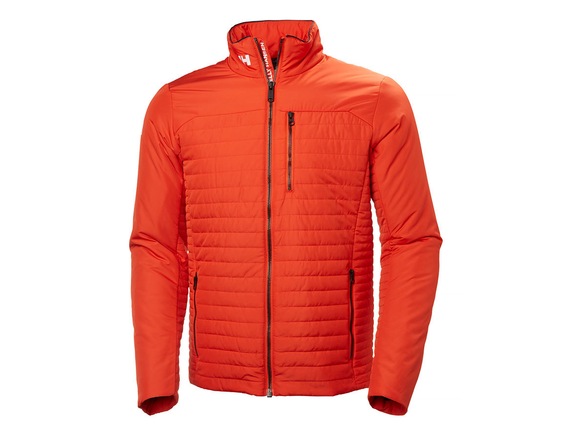 Helly Hansen CREW INSULATOR JACKET - GRENADINE - L (54344_135-L )