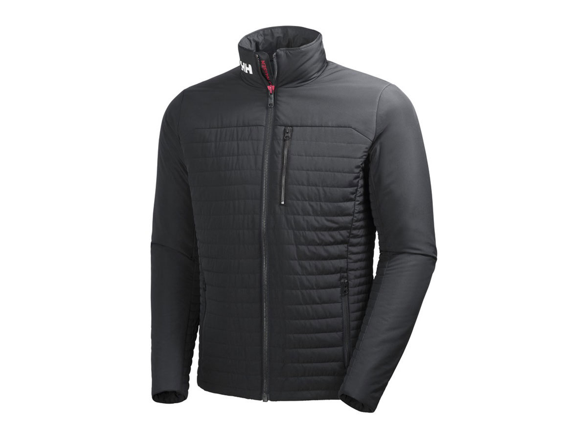 Helly Hansen CREW INSULATOR JACKET - EBONY - XXXL (54344_980-3XL )