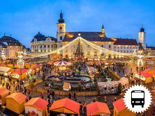 Advent Nagyszebenben és Déván 2 éjszaka szállással, reggelivel, városnézéssel és karácsonyi vásárral - buszos utazás / fő