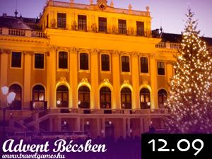 Advent Bécsben busszal 2012.12.09-én / fő