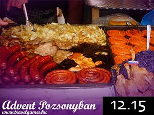 Advent Pozsonyban busszal 2012.12.15-én / fő