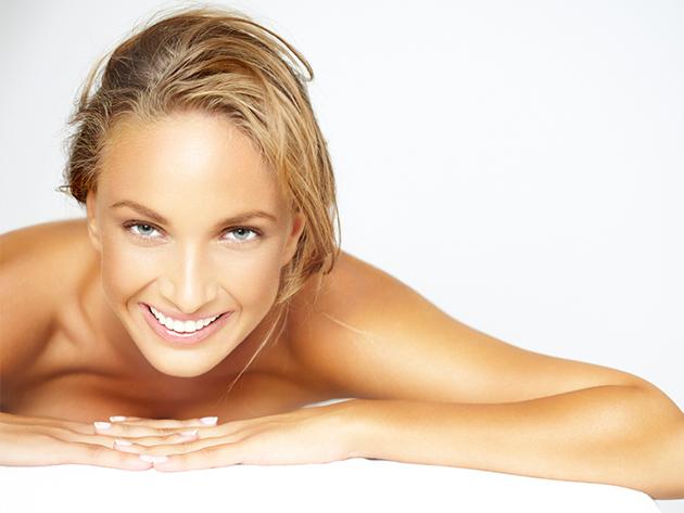Botox hatású kezelés, mélynyomó gumimaszkkal