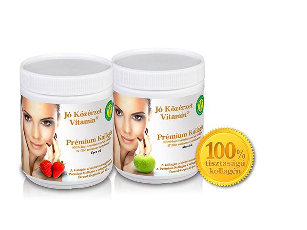 Jó Közérzet Vitamin® Prémium Kollagén (választható alma vagy eper ízekben)