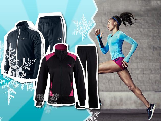Sportolj télen is a legjobb minőségű Nike és Puma melegítőkben!
