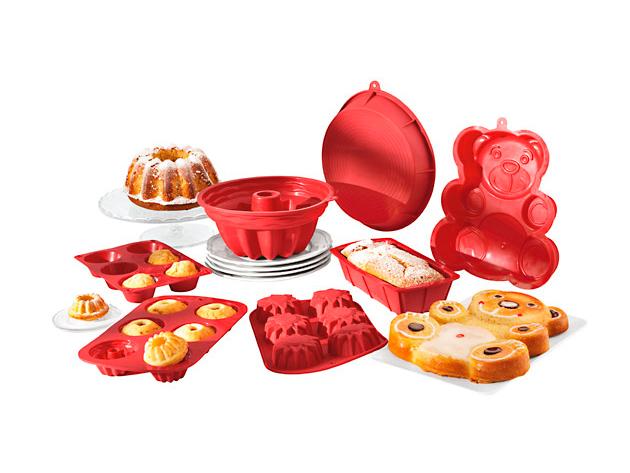 Szilikon sütőformák – praktikus csomag