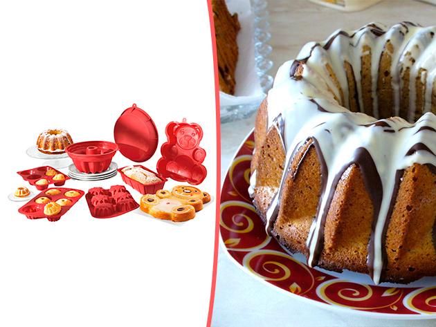 A szilikonos sütőformák segítségével gyerekjáték lesz az ünnepi készülődés!
