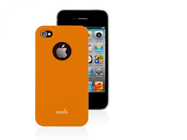 Moshi iPhone 4 hátlap fóliával (Narancs színben)