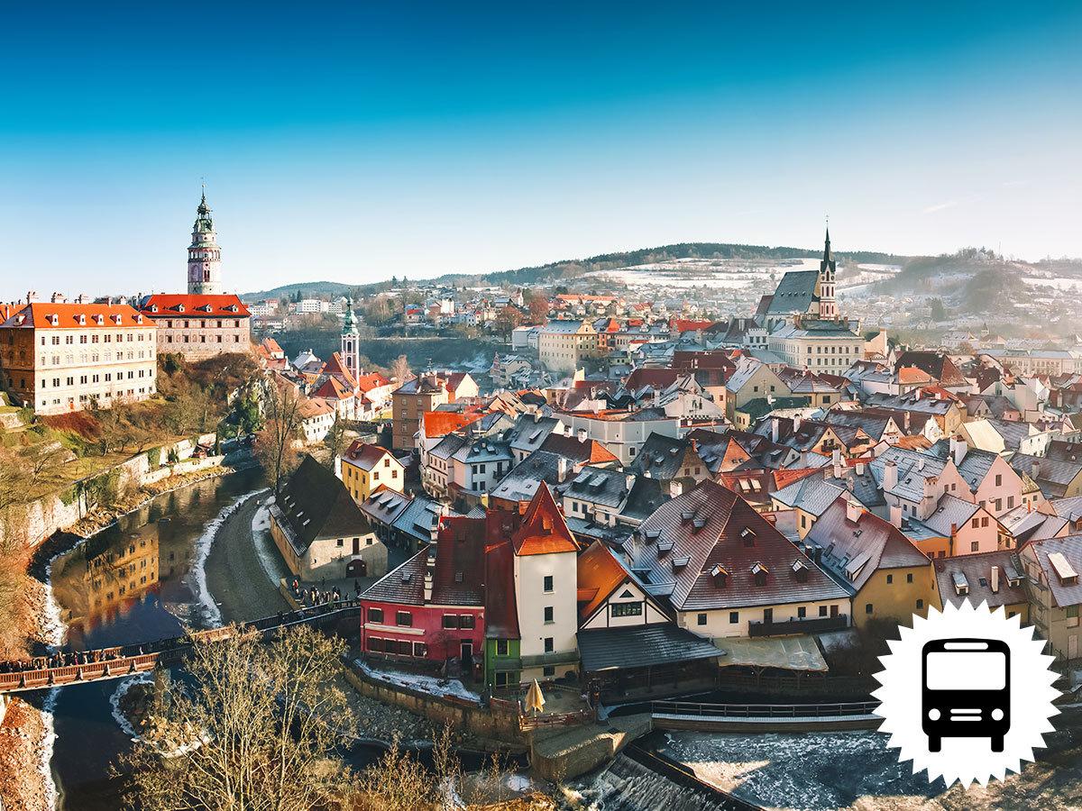 Advent Dél-Csehországban: Český Krumlov – České Budějovice 1 éj szállással, reggelivel, városnézéssel - buszos utazás / fő