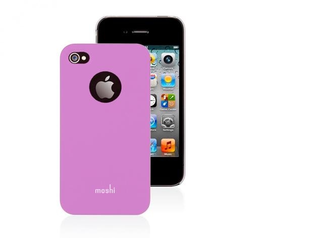 Moshi iPhone 4 hátlap fóliával (Pink színben)