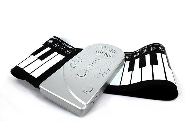 Flexibilis szintetizátor - összecsukható elektromos zongora digitális zongora