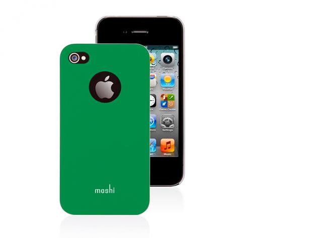 Moshi iPhone 4 hátlap fóliával (Zöld színben)
