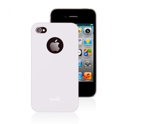 Moshi iPhone 4 hátlap fóliával (Fehér színben)