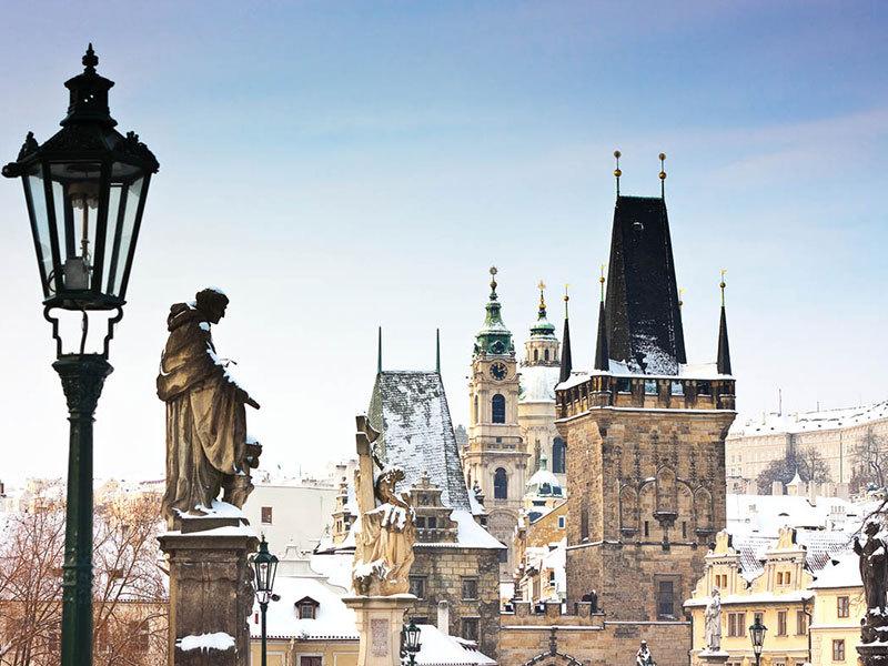 Csehország, Prága - szállás 3 nap/2 éjszakára 2 fő részére reggelivel - Iris Hotel Eden****