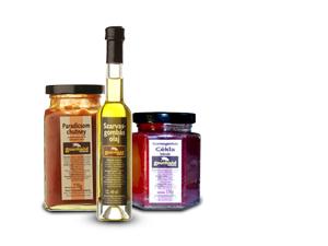 Szarvasgombás termékek és Chutney