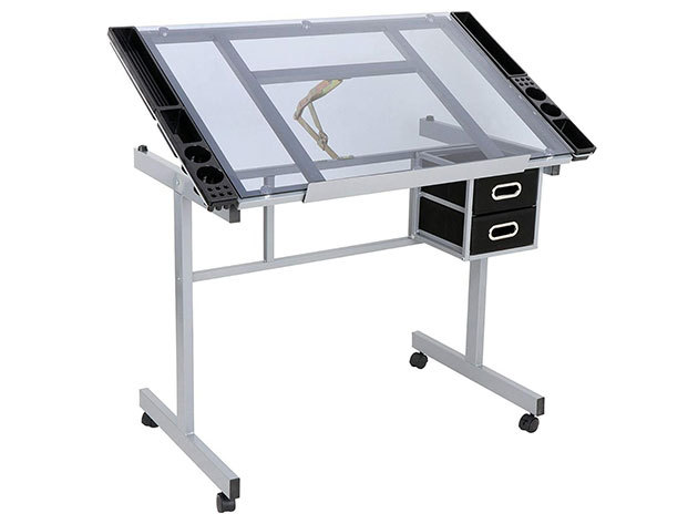 Tervező asztal, dönthető lappal - HOP1000879-1