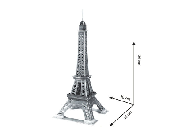 3D Puzzle Eiffel-torony - 33 darab