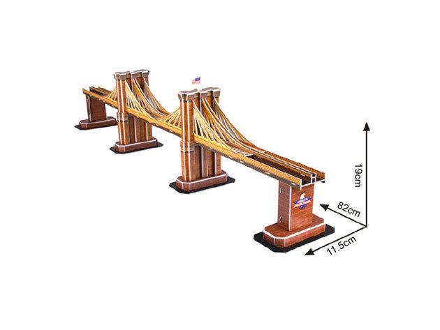 3D Puzzle Brooklyn-híd - 64 darab