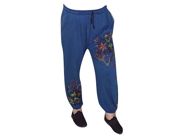 Egyedi nadrág nepálból kék színben