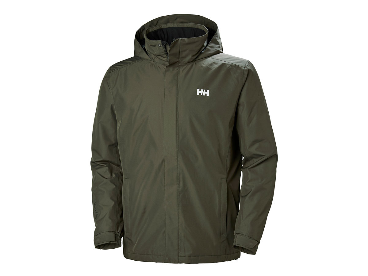 Helly Hansen DUBLINER INSULATED JACKET - BELUGA - M (53117_482-M )