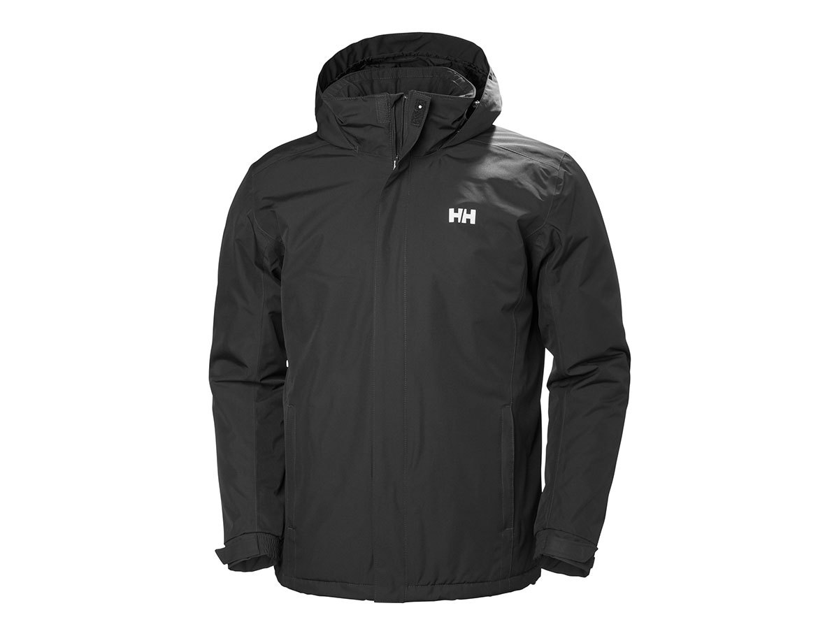 Helly Hansen DUBLINER INSULATED JACKET - BLACK - XXL (53117_990-2XL )