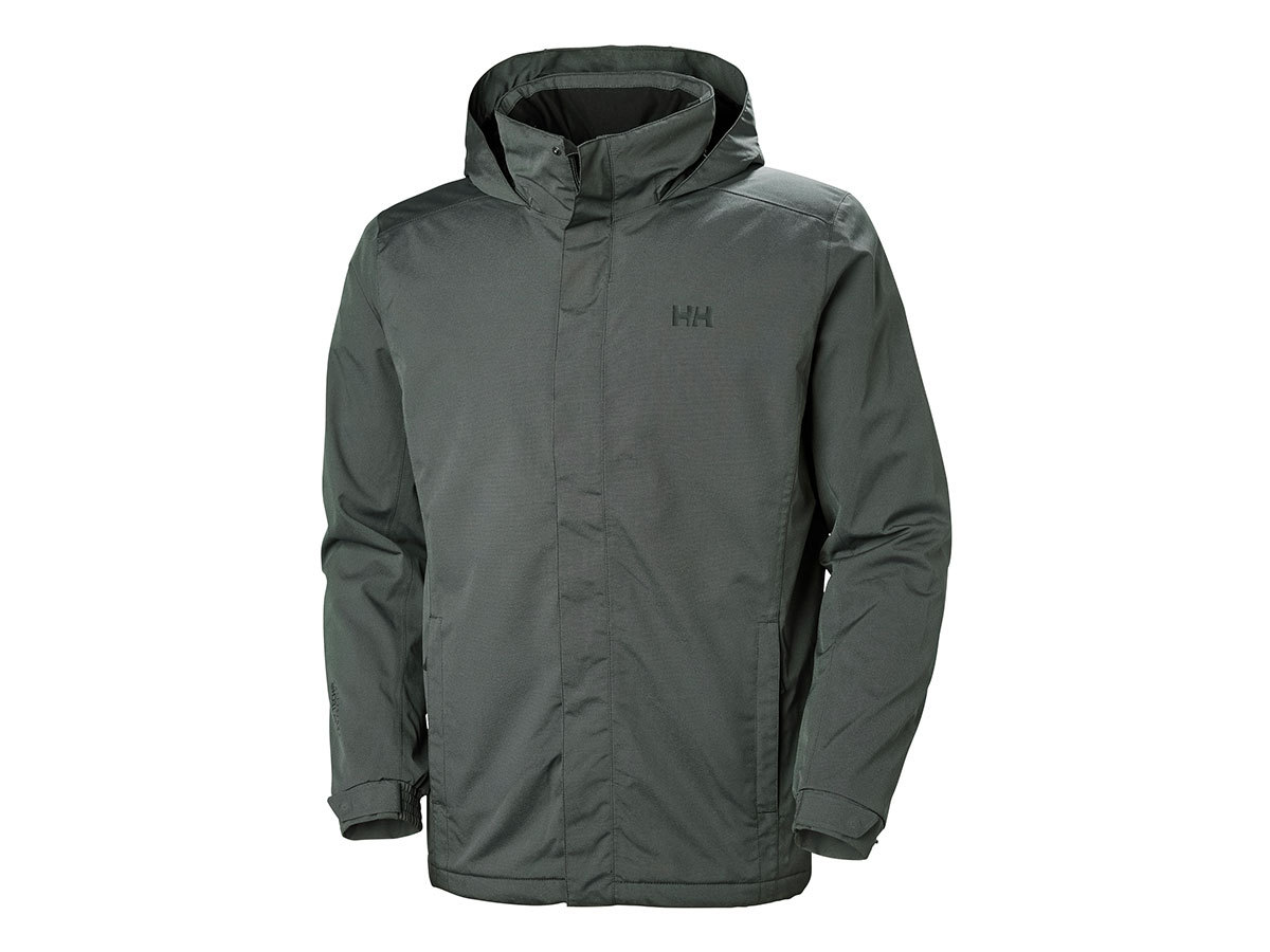 Helly Hansen DUBLINER INSULATED JACKET - BLACK MELANGE - L (53117_991-L )