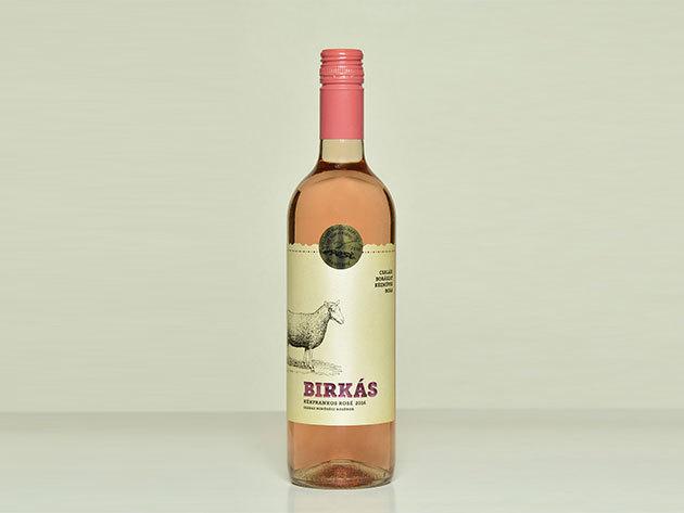 Birkás Kékfrankos Rozé 2018. száraz rozébor 0,75 l  - AZONNAL ÁTVEHETŐ